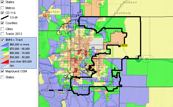 Colorado Congressional Districts 114th Congress