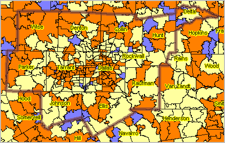 Zip Code Demographic Economic Analysis
