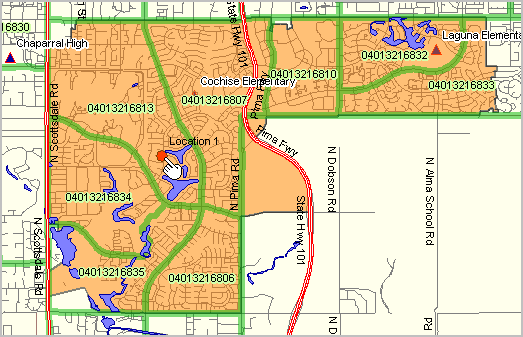 houston zip code map north