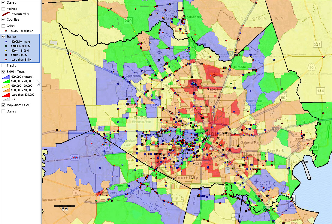Census Tracts Neighborhood Demographics Fast Growth