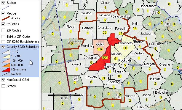 what county is zip code 30342
