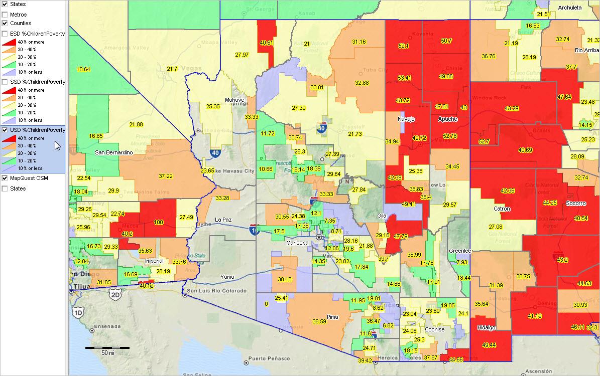 AZ Scottsdale  ProximityOne