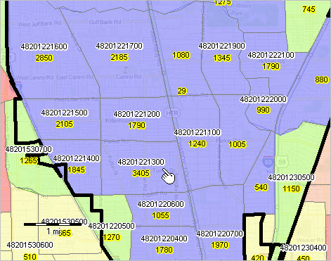 Hispanic Citizen Voting Age Population CVAP One Person One - 540 area code