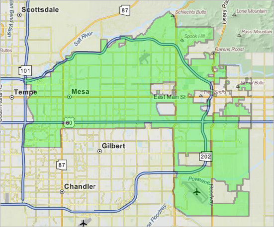 Making City Maps DecisionMaking Information Resources Solutions - Arizona city maps
