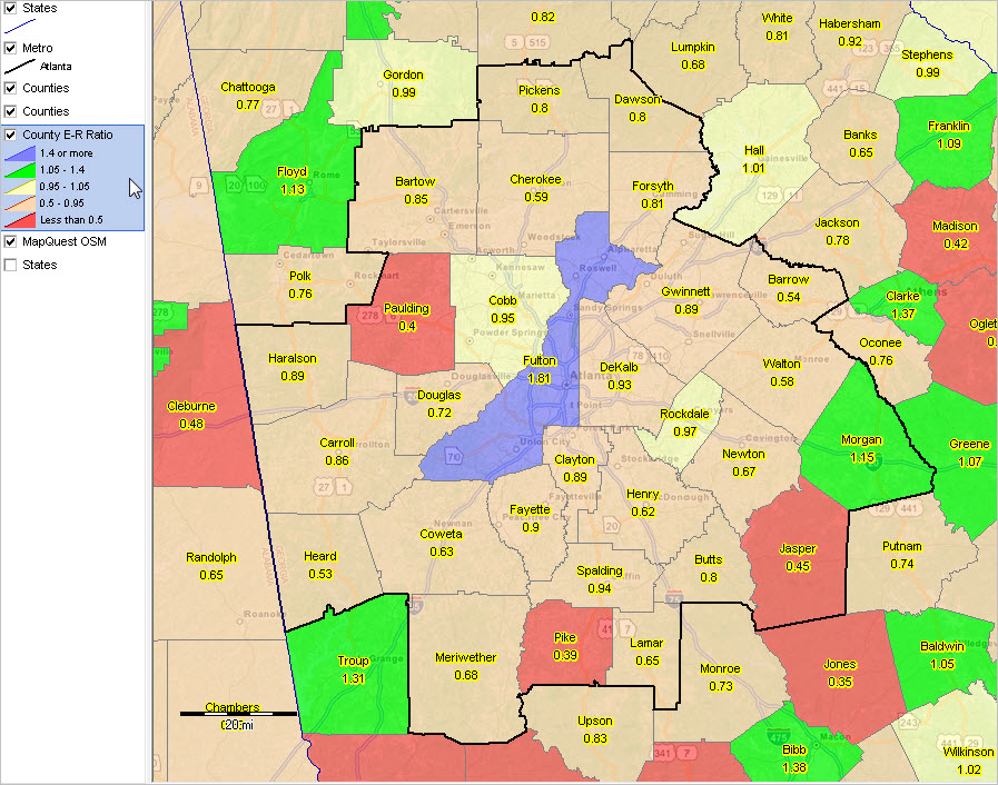 February DecisionMaking Information Resources Solutions - Atlanta georgia map zip codes