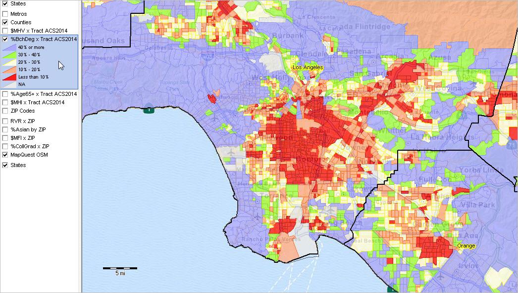 Census Tract ACS 2014 Demographic Economic Patterns Social ... on census form, census region, census block, census survey,
