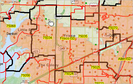 ZIP Code Urban Rural Geography Demographics