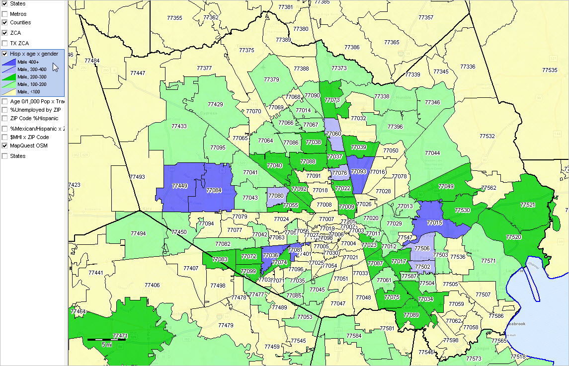 Harris County Zip Code Map Karmaboxers - Us zip code to county mapping