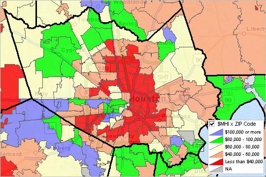 48201 Zip Code Map.Zip Code Demographic Economic Data Options