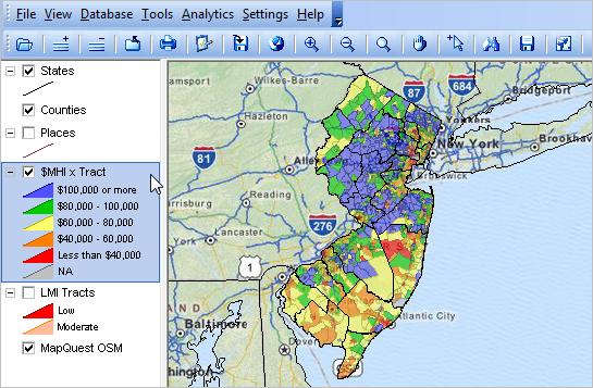 Mapping New Jersey Neighborhood Patterns