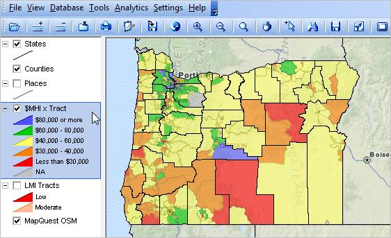 Oregon Demographic Economic Trends Census 2010 Population