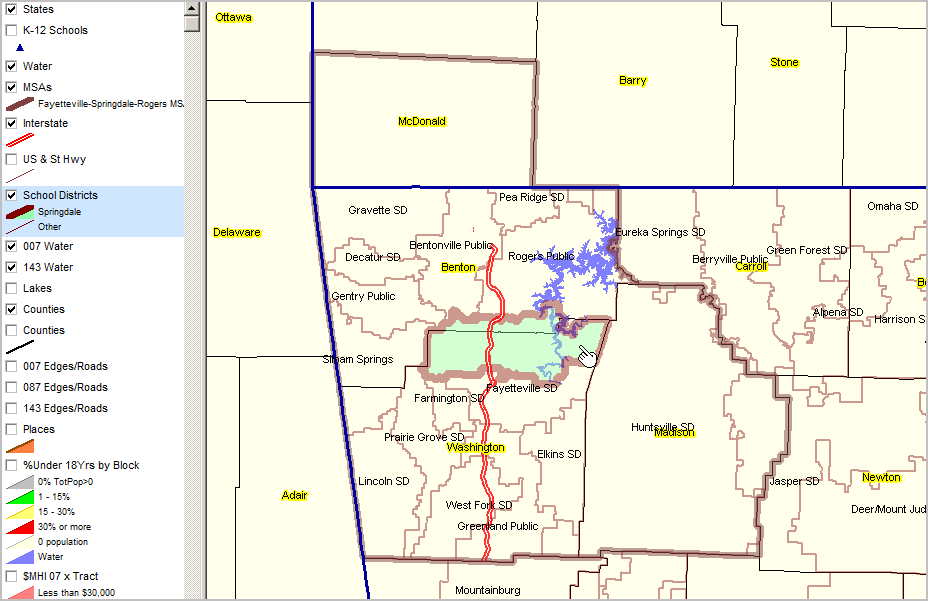 Arkansas School District Boundaries Pictures To Pin On