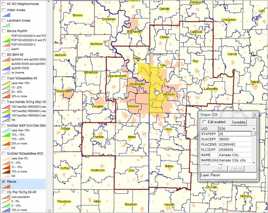 Kansas City Missouri Map With Zip Codes