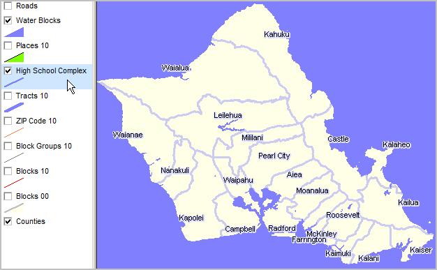 Hawaii Demographics - Mapping & GIS