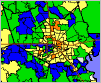 ZIP Code Area Geography & Demographic - Economic Patterns
