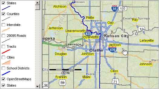 Census Tracts Openstreetmap Gis Open Street Maps - Us-map-shapefile
