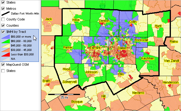 DallasFort WorthArlington TX MSA Situation Outlook Report