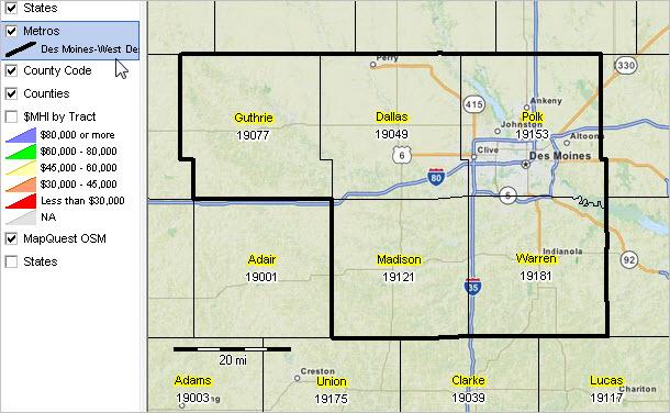 Des Moines West Des Moines Ia Msa Situation Outlook Report