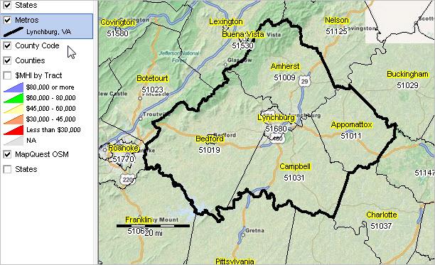 Lynchburg, VA MSA Situation & Outlook Report