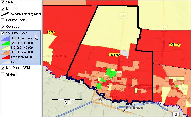 McAllenEdinburgMission TX MSA Situation Outlook Report