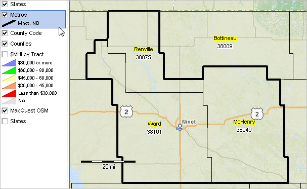 Minot Nd Misa Situation Outlook Report