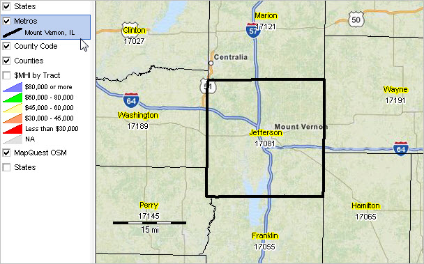 Mount Vernon, IL MISA Situation & Outlook Report