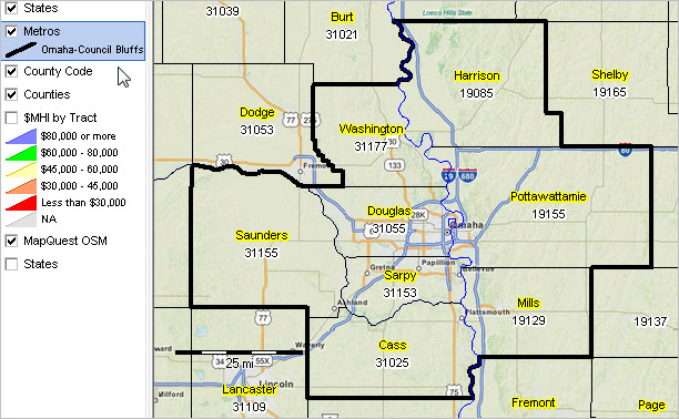 Omaha-Council Bluffs, NE-IA MSA Situation & Outlook Report on