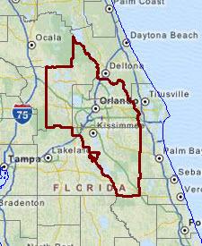 Map Of Sanford Florida.Orlando Kissimmee Sanford Fl Msa Situation Outlook Report