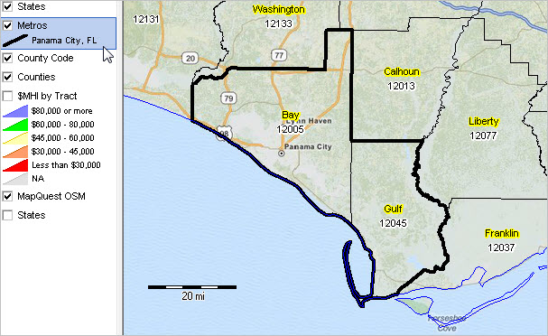 Panama City Fl Msa Situation Outlook Report