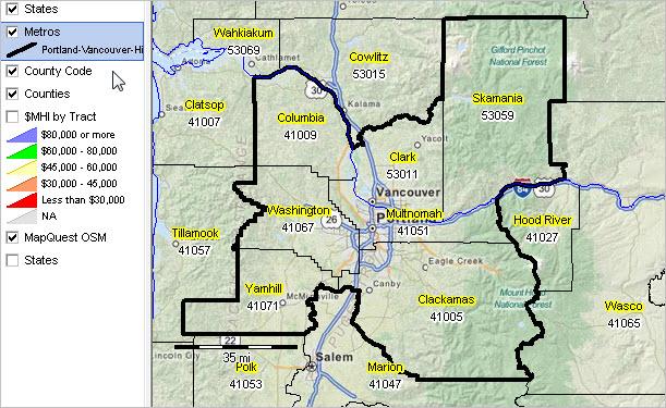 PortlandVancouverHillsboro ORWA MSA Situation  Outlook Report