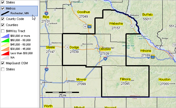rochester mn msa situation outlook report For90214 Zip Code
