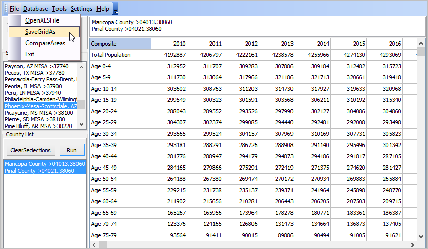 comparative analysis in excel