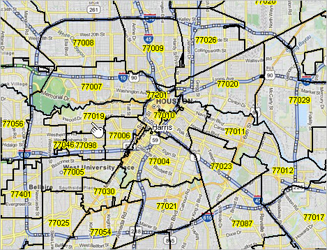 Zip Code Map Houston Area.Zip Code Income Decision Making Information Resources Solutions