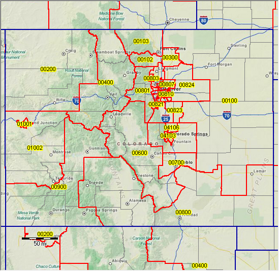 80906 Zip Code Map.Colorado Springs Co Zip Code Map Zip Code Map