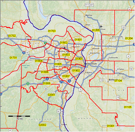 PUMA 2010 Illinois Public Use Microdata Areas