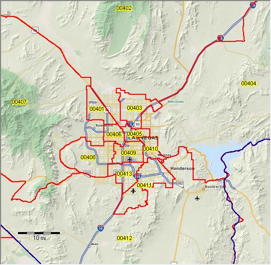 PUMA 2010 Nevada Public Use Microdata Areas Demographic Map Of Las Vegas on demographic map of jerusalem, demographic map of australia, demographic map of new york city,