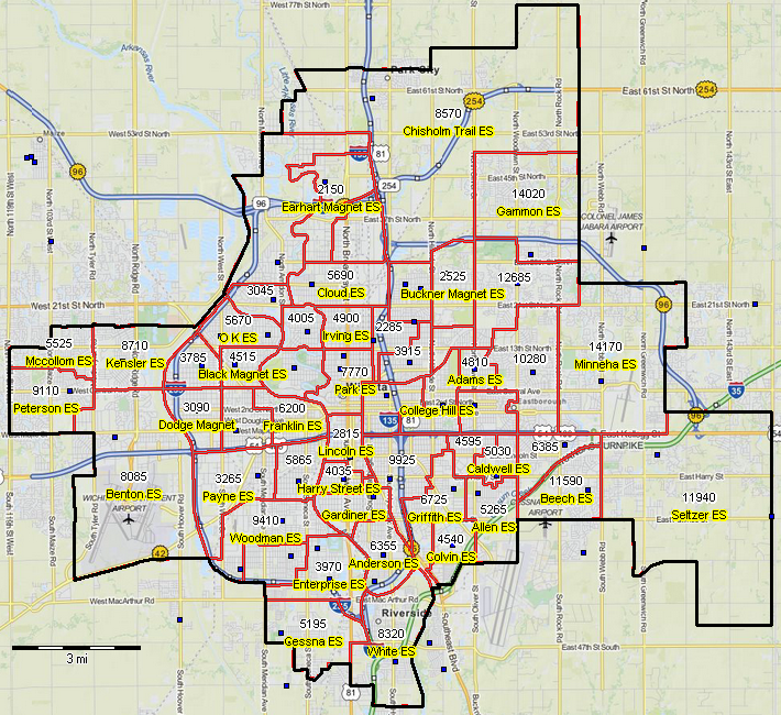 Wichita Kansas Zip Code Map