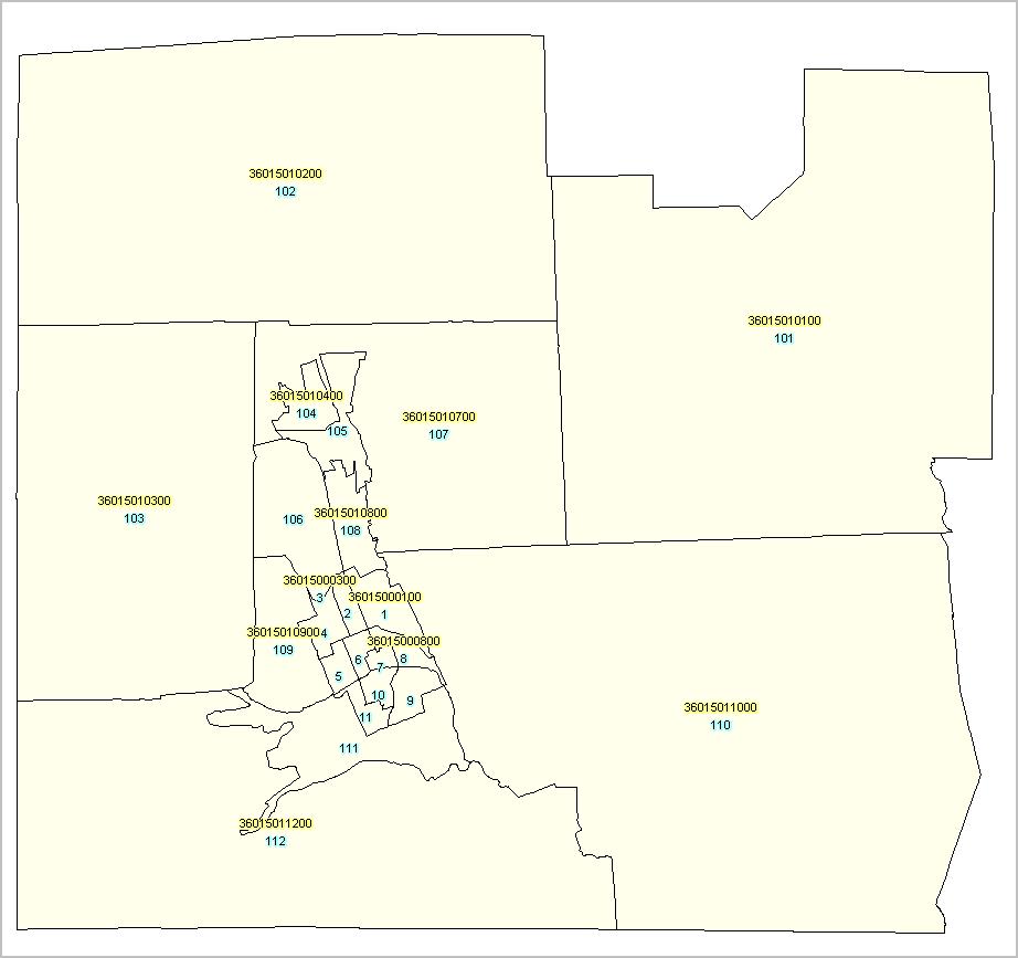 Oregon Census Tract Demographic Characteristics - Us census tract map